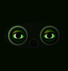 Night vision binocular vector