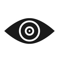 Target goal abstract conceptual icon vector