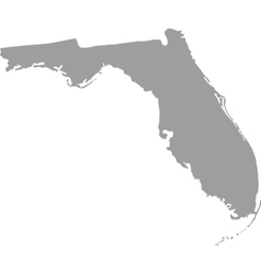 US state of Florida vector image