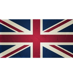 Grunge flags - england vector