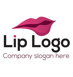 Lip logo vector