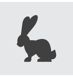 Rabbit icon vector image