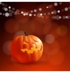 Halloween or dia de los muertos greeting day of vector
