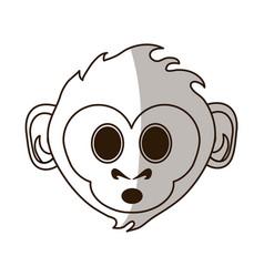Cute monkey design vector