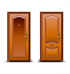 door closed vector image