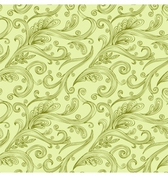 Seamless twirl Pattern vector image vector image