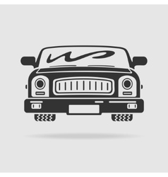 Symbol Car vector image