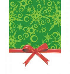 Christmas gift wrap vector