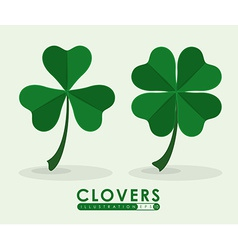 Clover icon vector