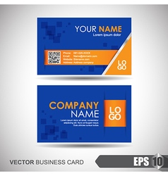 Business card 007 vector