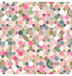 Colorful Seamless Mosaic Pattern vector image vector image