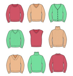 Jumpers vector image vector image