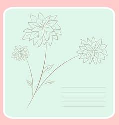 Notebook print vector