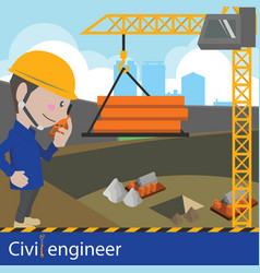 Construction and civil engineering vector