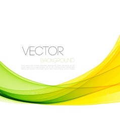 Abstract curved lines background template vector