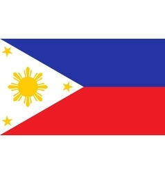 Philippines flag image vector image