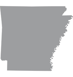 Us state of arkansas vector