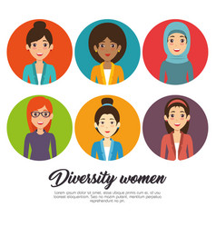 diversity people concept vector image