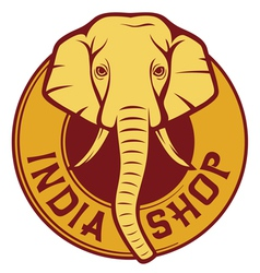 india shop vector image vector image