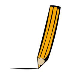 Pencil icon icon cartoon vector