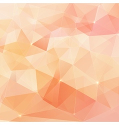 Abstract triangles geometry background vector