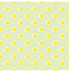 Seamless pattern background with lemon vector