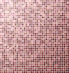 Abstract pixel mosaic background vector