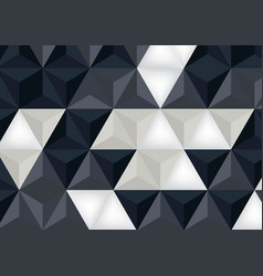 Abstract polygons background geomtric concept vector