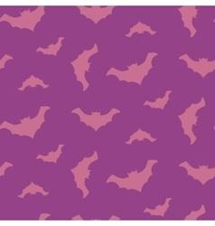 Halloween flying bats seamless pattern vector image vector image