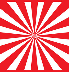 red and white sunburst pattern vector image vector image