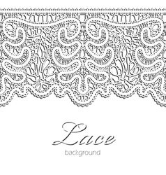 Realistic lace vector