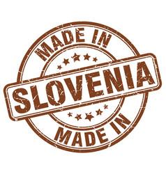 Made in slovenia vector