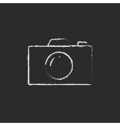 Camera drawn in vector
