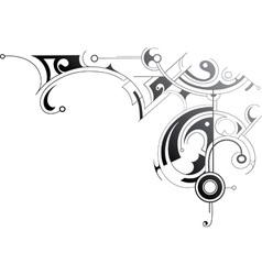 Modern swirls vector