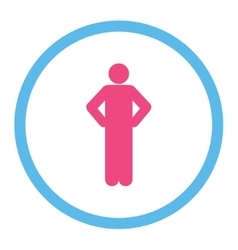 Akimbo icon vector