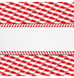 Candy Canes Background vector image