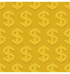 Dollars pattern vector image
