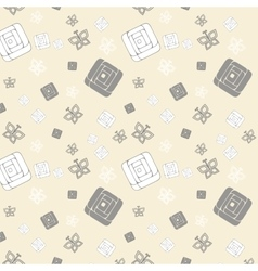 Gentle seamless pattern vector