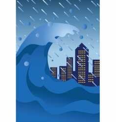 natural disaster vector image
