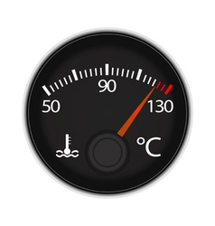 Temperature icon vector