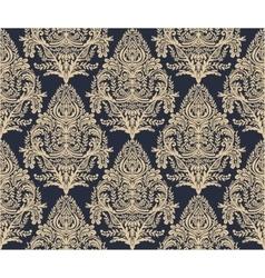 Wallpaper baroque seamless pattern vector