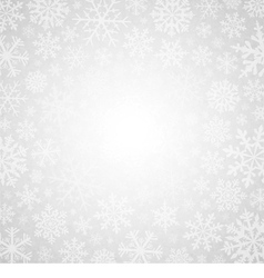 Winter white background vector image vector image