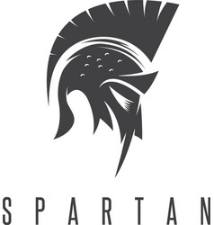 Old vintage antiques spartan warrior design vector