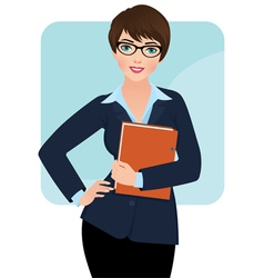 Businesswoman vector