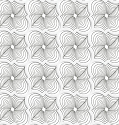 Colored 3d gray twisted diagonal marrakech vector