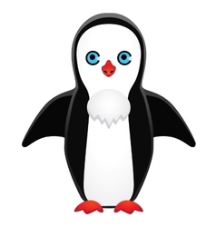 Symmetrically drawn penguin vector