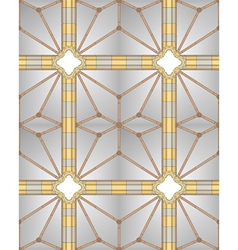 Medieval cathedral ceiling vector