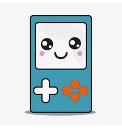 Game control icon kawaii and technology vector