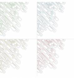 Abstract graphic panels vector