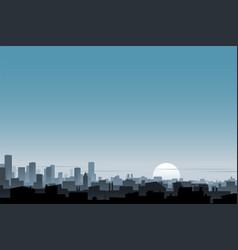 Urban background banner vector